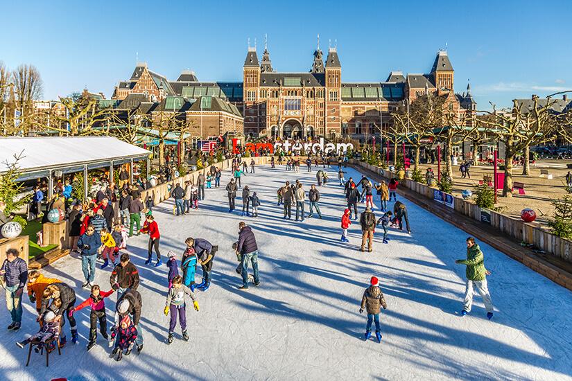 אייסקייט אמסטרדם - Ice Amsterdam