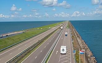 סכר אפסלאודייק - Afsluitdijk