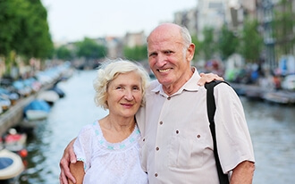 חופשה באמסטרדם בגיל הזהב : לראות את הולנד ממרום גילכם