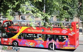 הופ און הופ אוף - לראות את מוקדי העניין של אמסטרדם
