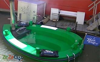 שייט בסירת אמבט חם ברוטרדם - Hot Tug