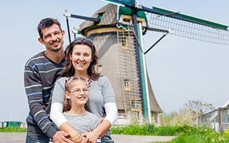 טיול בת מצווה בהולנד - חופשת בת מיצווש של נועם