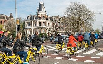 אופנים באמסטרדם - Bicycles in Amsterdam