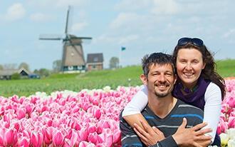 חופשה זוגית באמסטרדם: לטייל באחת הערים היפות באירופה