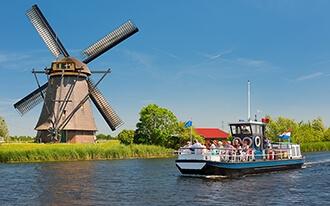 הכפר ההולנדי קינדרדייק - Kinderdijk