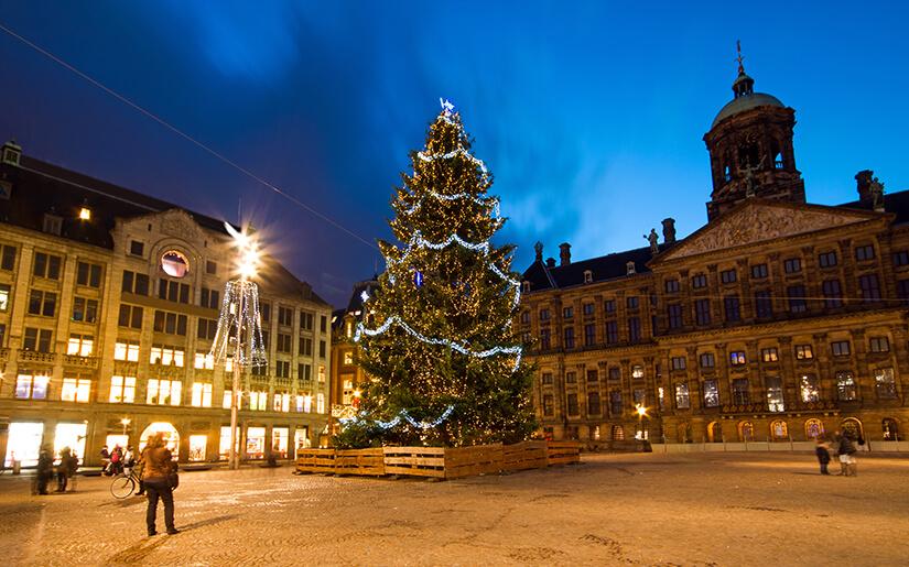 שווקי חג המולד באמסטרדם - Christmas Markets in Amsterdam